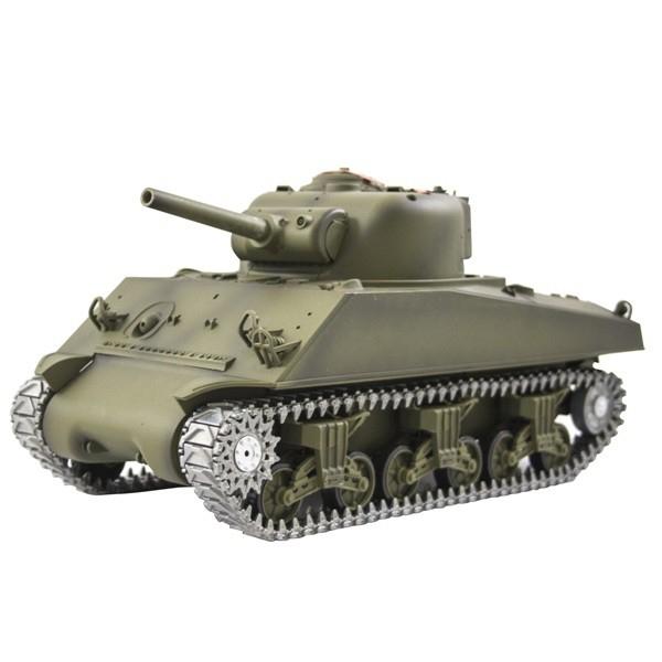 Радиоуправляемый танк Heng Long Sherman M4A3 PRO 2.4GHz 1:16