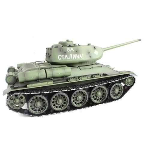 Радиоуправляемый танк Heng Long Russia T34-85 Pro масштаб 1:16 2.4G