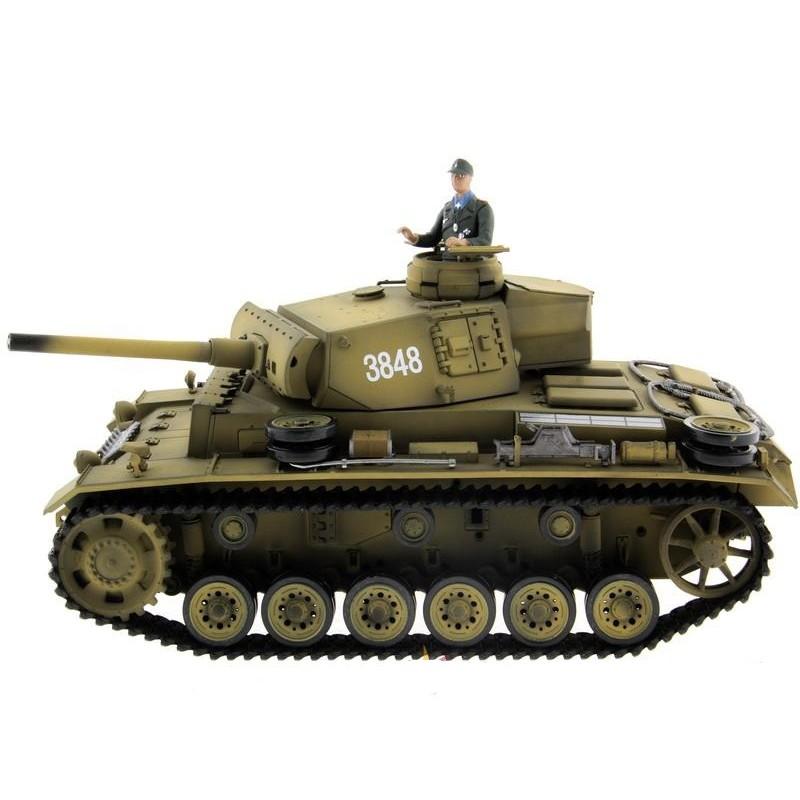 Радиоуправляемый танк Taigen Panzerkampfwagen III (инфракрасный) 2.4GHz 1:16