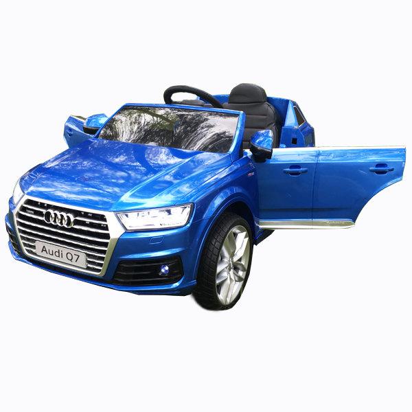 Детский электромобиль Audi Q7 LUXURY 2.4G,- Blue