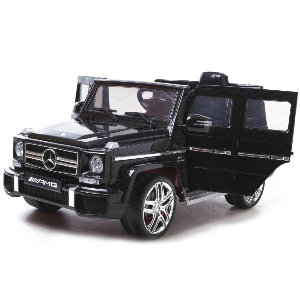 Детский электромобиль Mercedes Benz G63 LUXURY 2.4G – Black