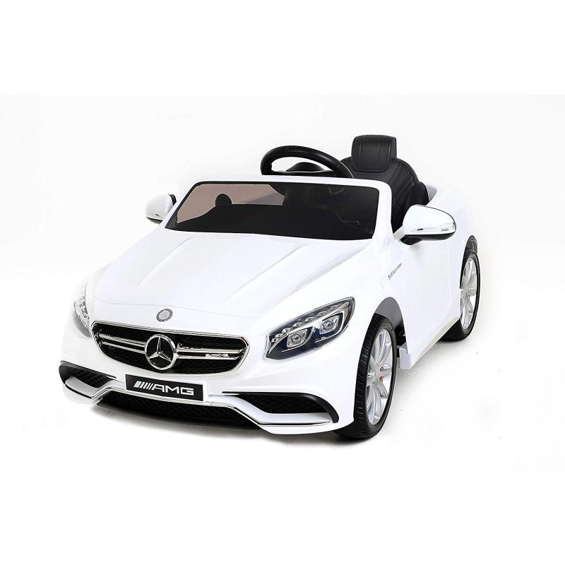 Детский электромобиль Mercedes Benz S63 LUXURY 2.4G – White