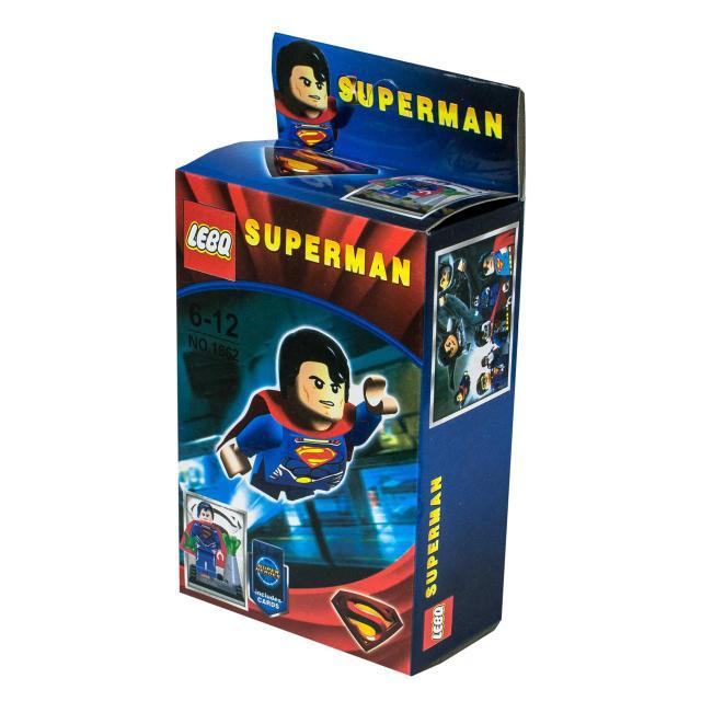 """Конструктор 1661-1668 """"Superman"""" 8 видов, в кор."""