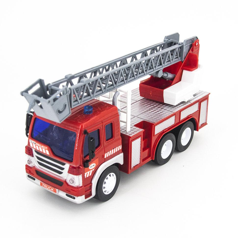 Радиоуправляемый грузовик – пожарная машина 1:16