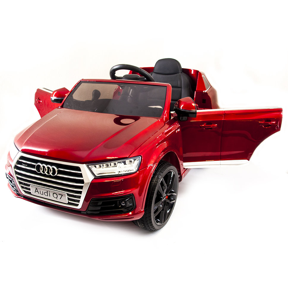 Детский электромобиль Audi Q7 LUXURY 2.4G- Red HL159