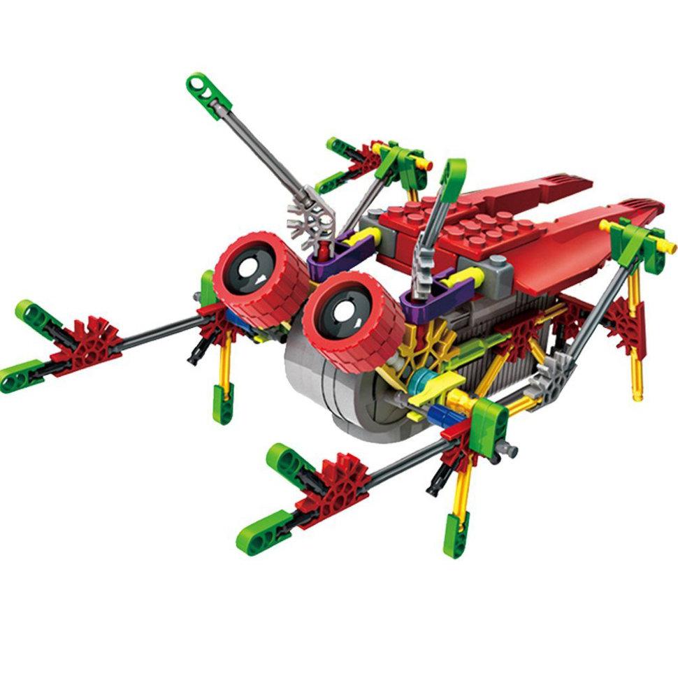 "Конструктор на батарейках LOZ Робот-муха ""Цикада"" 122 детали – LOZ-3014"