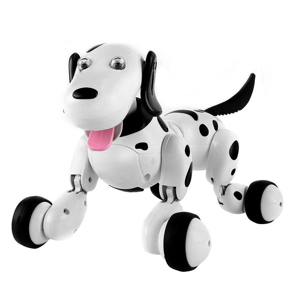 Радиоуправляемая умная собачка HappyCow Smart Dog Black – 777-338-RU