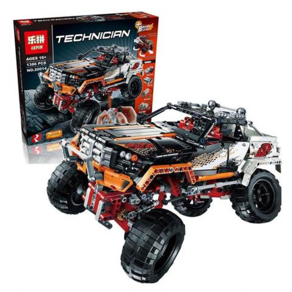 Конструктор Lepin Technics 20014 4WD Crawler
