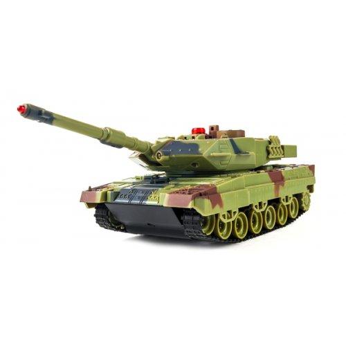 танк р/у 1:36 HuanQi H500 Bluetooth с и/к пушкой для танкового боя HQ-H500,