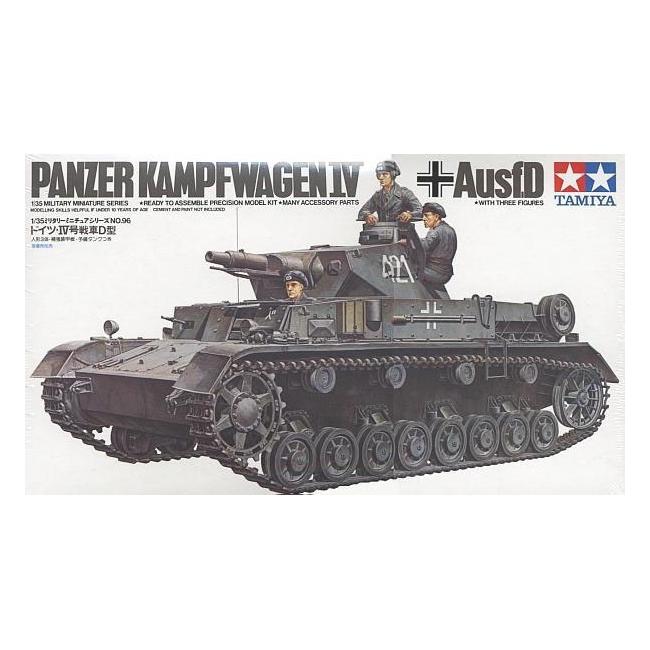 Танк Pzkpw IV Ausf.D (1:35)