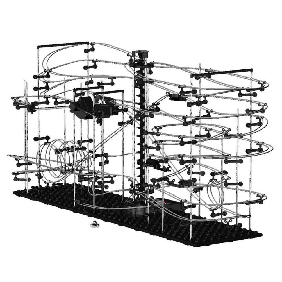 Динамический конструктор Космические горки уровень 5 – 231-5