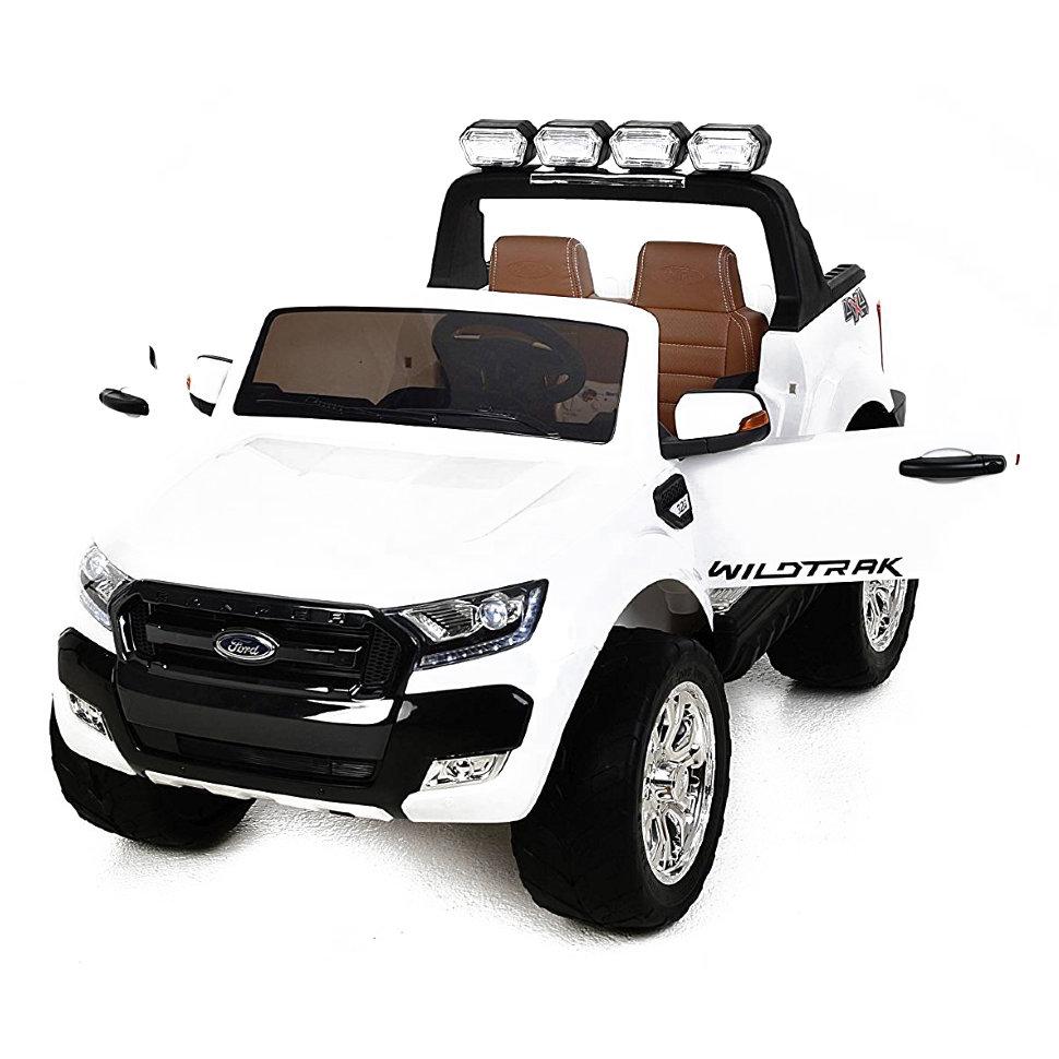 Детский электромобиль Dake Ford Ranger White 4WD MP4 – DK-F650-W