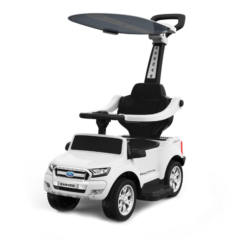 Детский электромобиль – каталка Dake Ford Ranger White – DK-P01-W