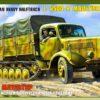Немецкий тяжелый полугусеничный грузовик L 4500R Маультир