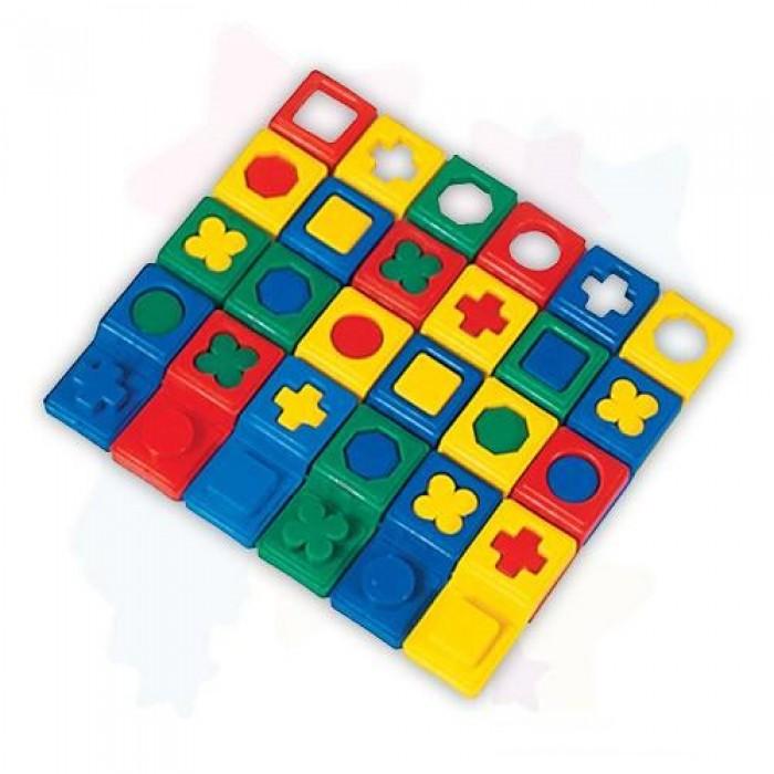 Логическое домино (пластмасса) 5026 (24 эл-та)