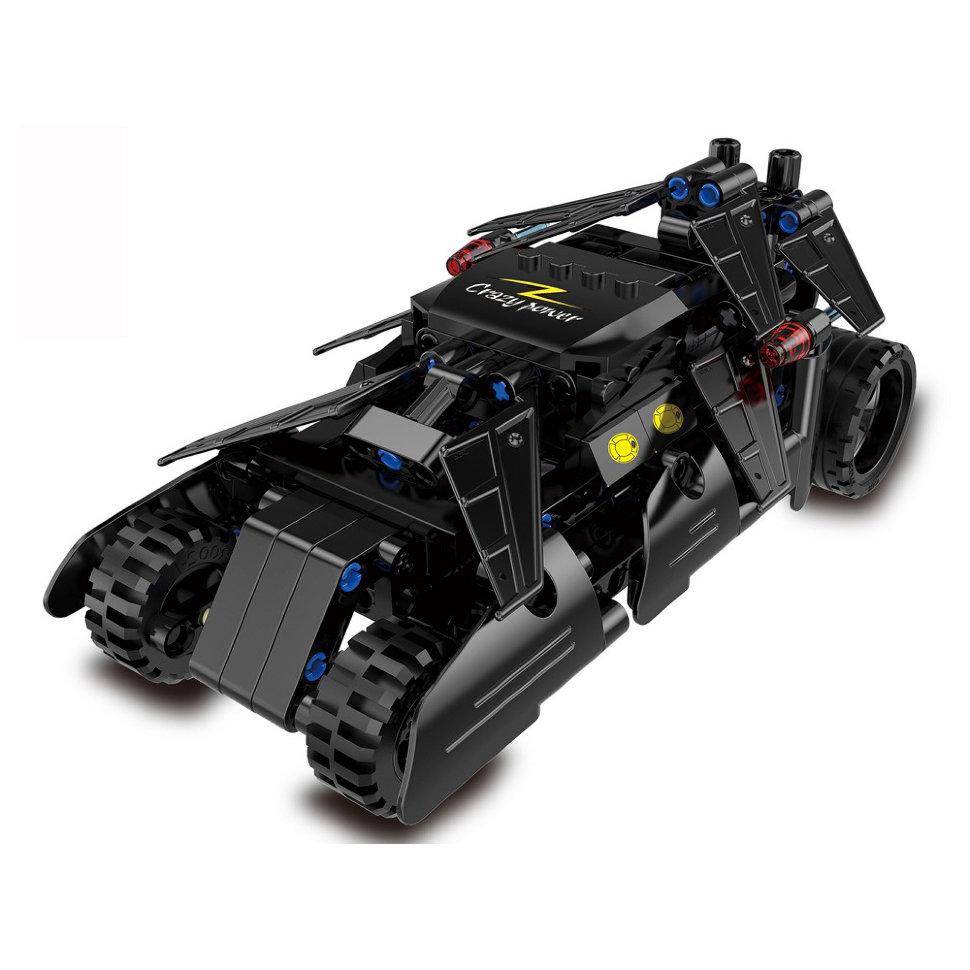 Конструктор Cada Technics бэтмобиль с инерционным механизмом, 212 деталей – C52005W