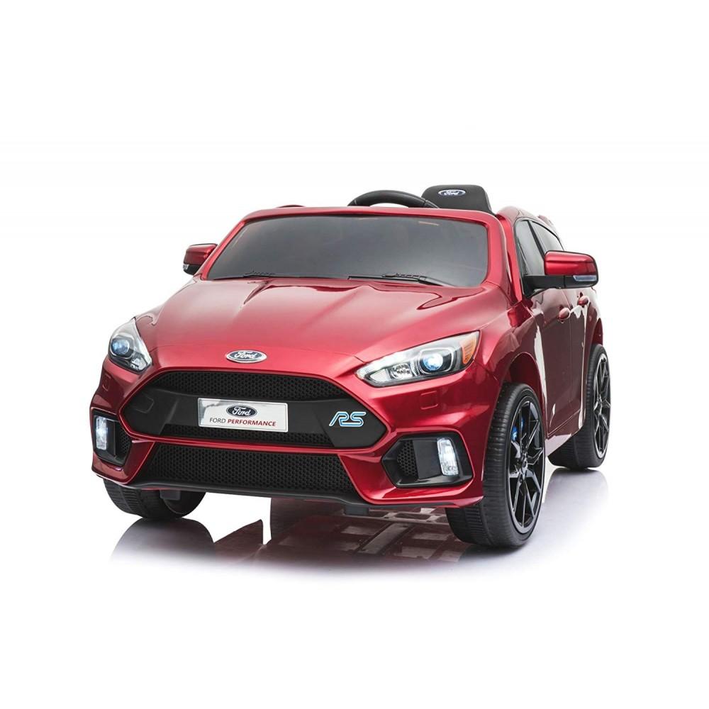 Детский электромобиль Dake Ford Focus RS Wine Red 12V 2.4G – F777-RED