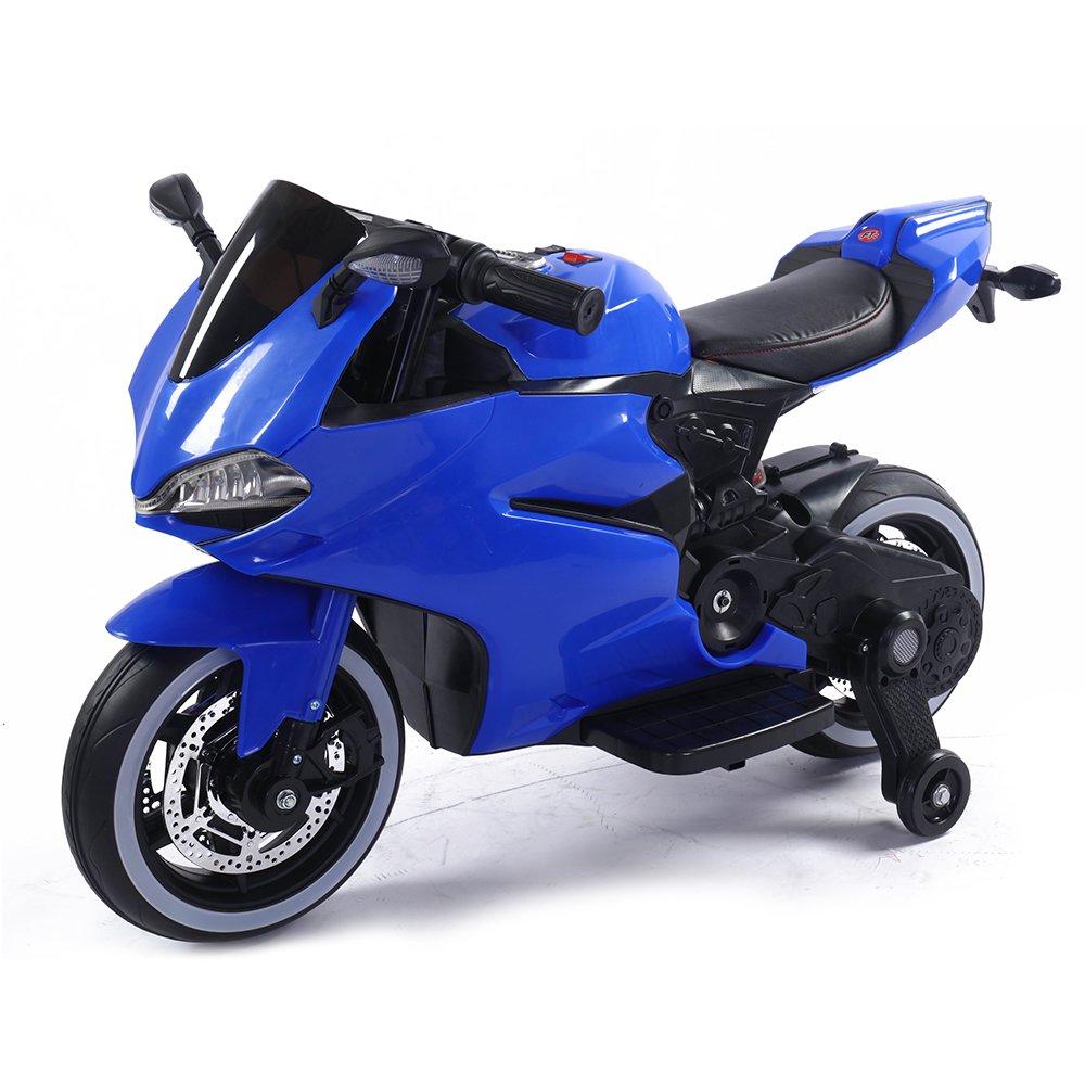 Детский электромотоцикл Ducati Blue 12V – FT-1628