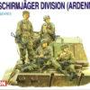6113 фигуры 3rd Fallschirmjager Division (Ardennes 1944) (1:35)
