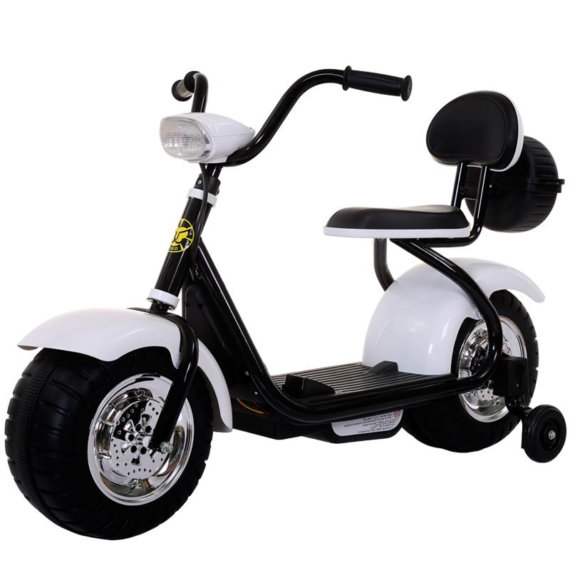 Детский электромотоцикл CityCoco – QK-306-WHITE