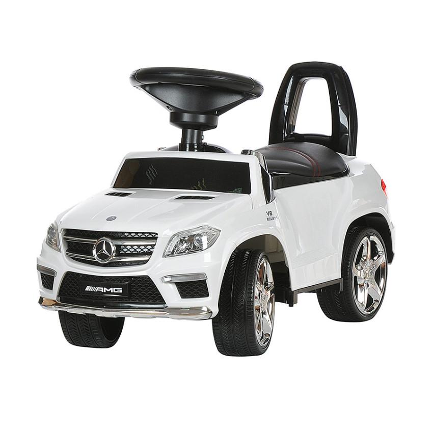 Детская каталка Mercedes GL63 AMG White