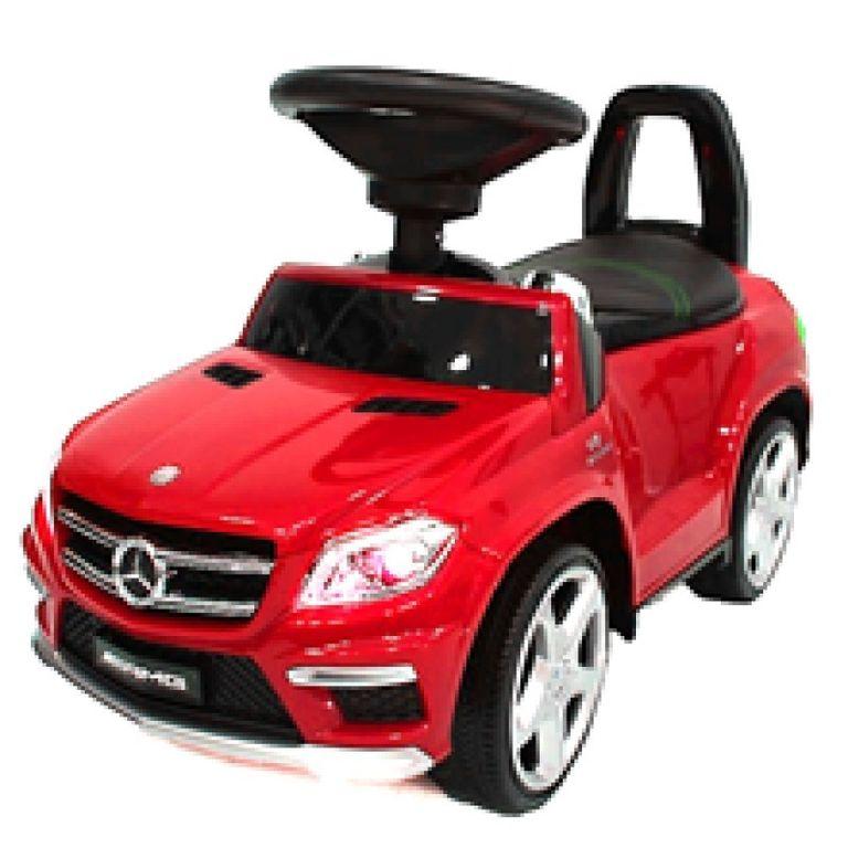 Детская каталка Mercedes GL63 AMG Red