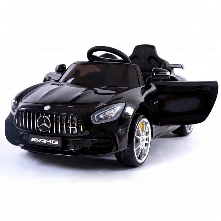 Детский электромобиль Mercedes Benz AMG GT R 2.4G – Black – HL288