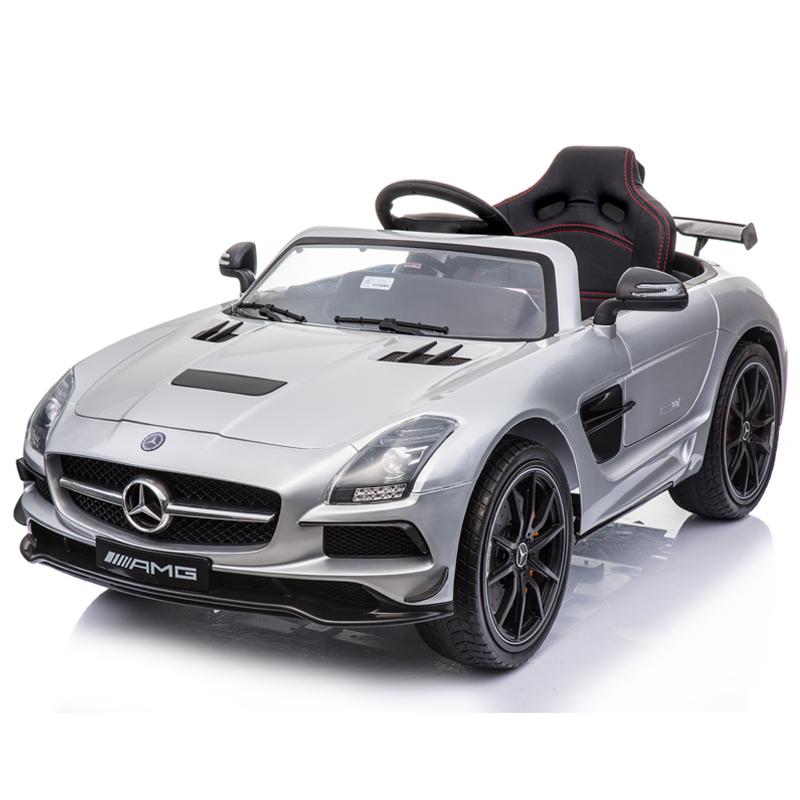 Электромобиль Mercedes-Benz SLS AMG Silver – SX128-S