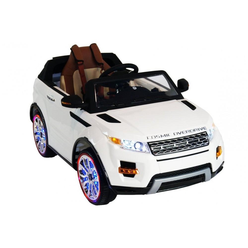 Детский электромобиль Range Rover Luxury White 12V 2.4G – SX118-S