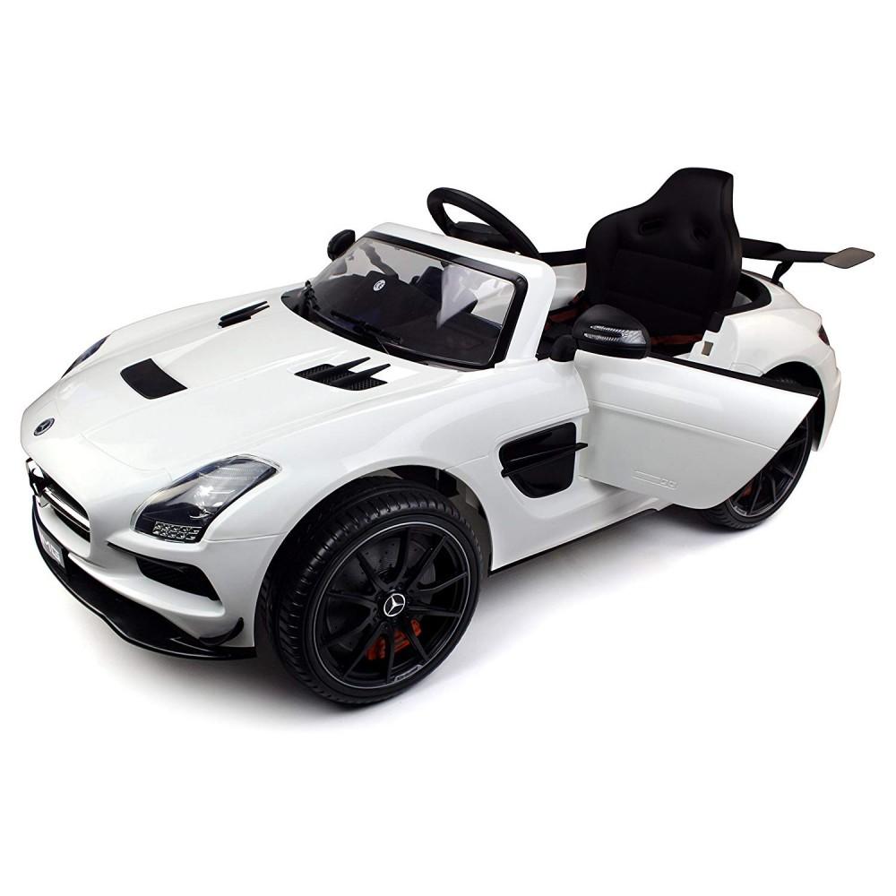 Электромобиль Mercedes-Benz SLS AMG White – SX128-S