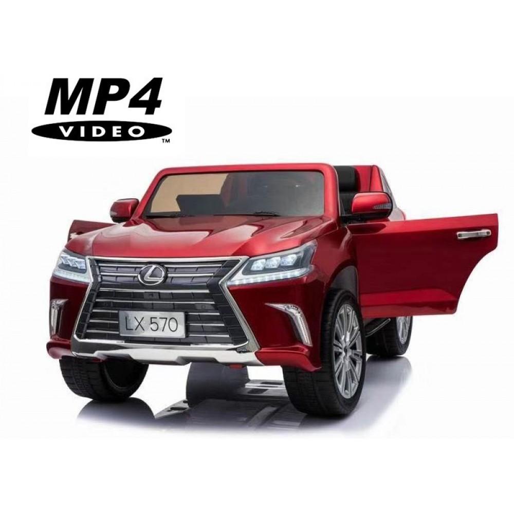 Детский электромобиль Lexus LX570 4WD MP4 – DK-LX570-RED-PAINT-MP4