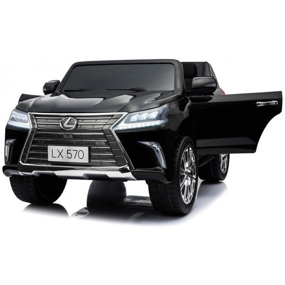 Детский электромобиль Lexus LX570 4WD MP4 – DK-LX570-BLACK-PAINT-MP4