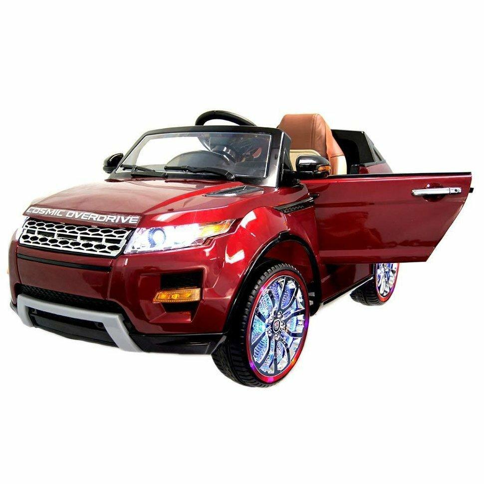 Детский электромобиль Range Rover Luxury Red MP4 12V – SX118-S