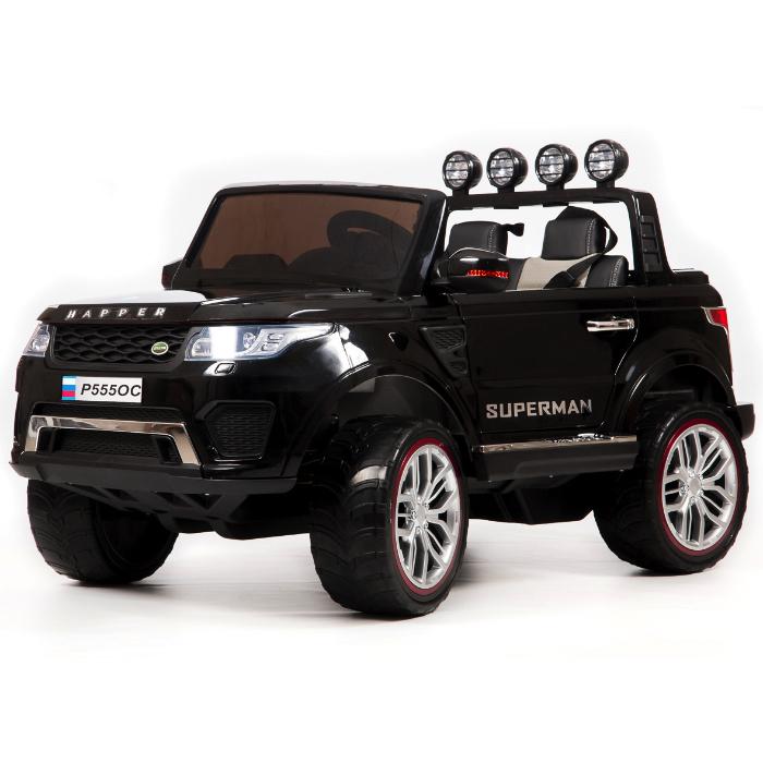 Детский электромобиль Range Rover Sport Black 4WD 12V 2.4G – XMX601
