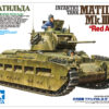 Танк Matilda MK III/IV в Красноармейском варианте в комплекте с 2-мя фигурами (1:35)