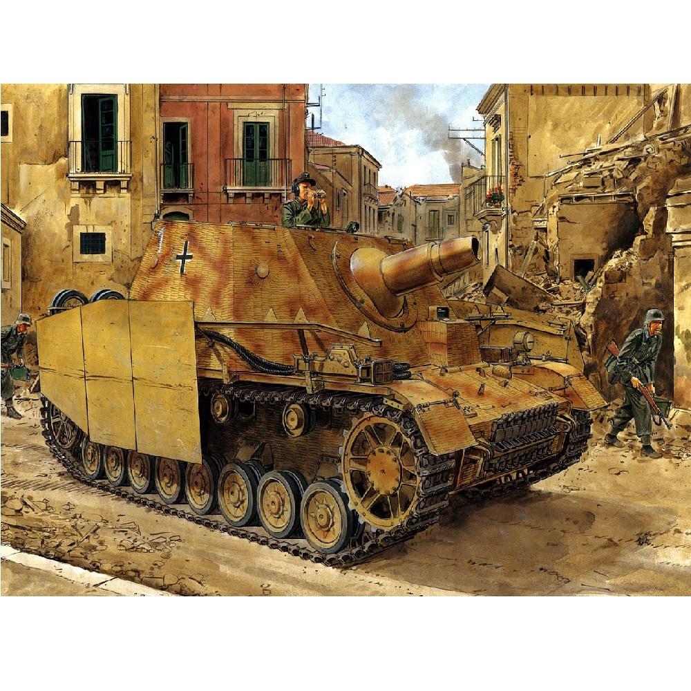 "Танк Sd.Kfz. 166 Stu.Pz.IV ""Brummbar"" Dragon, 1/35 6500Д"