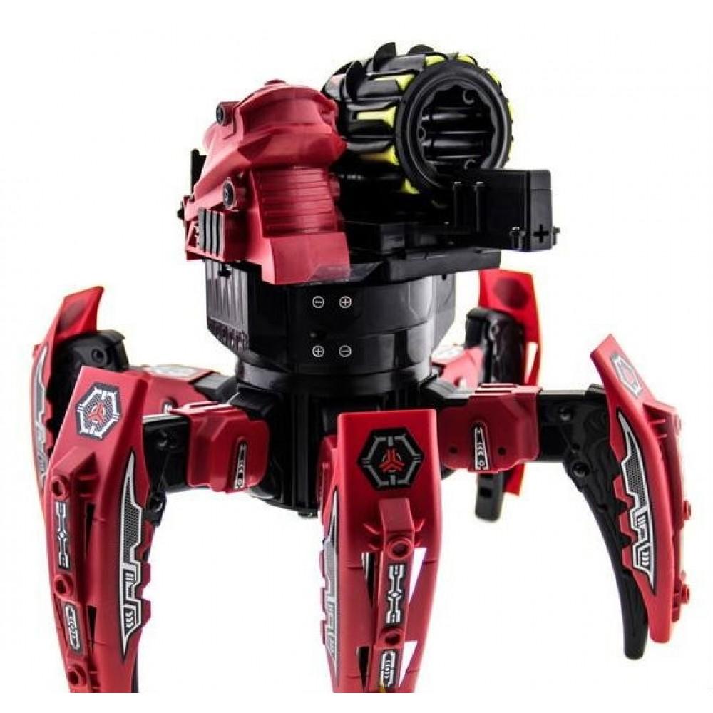 Радиоуправляемый робот-паук Space Warrior с пульками