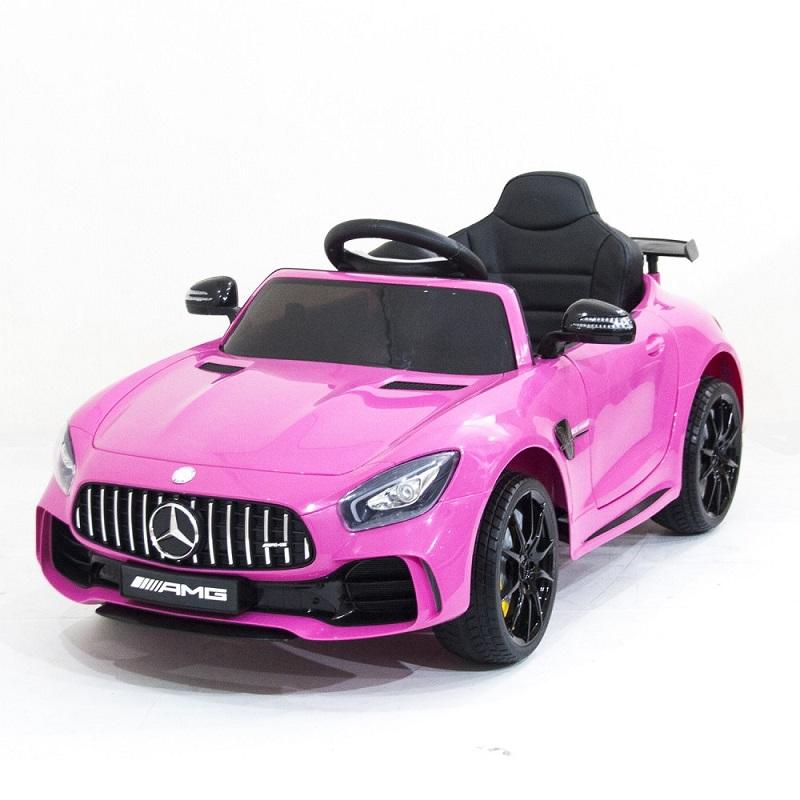 Детский электромобиль Mercedes Benz AMG GT R 2.4G – PINK – HL288