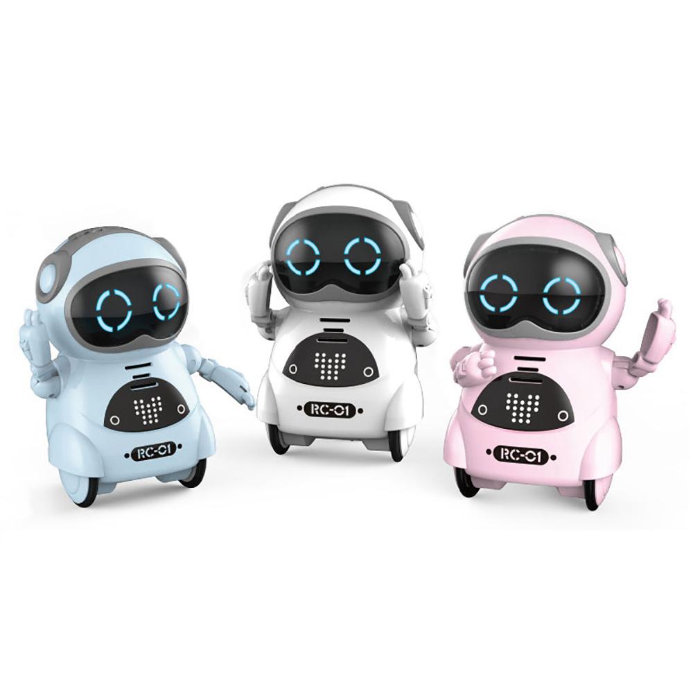 Карманный интерактивный робот