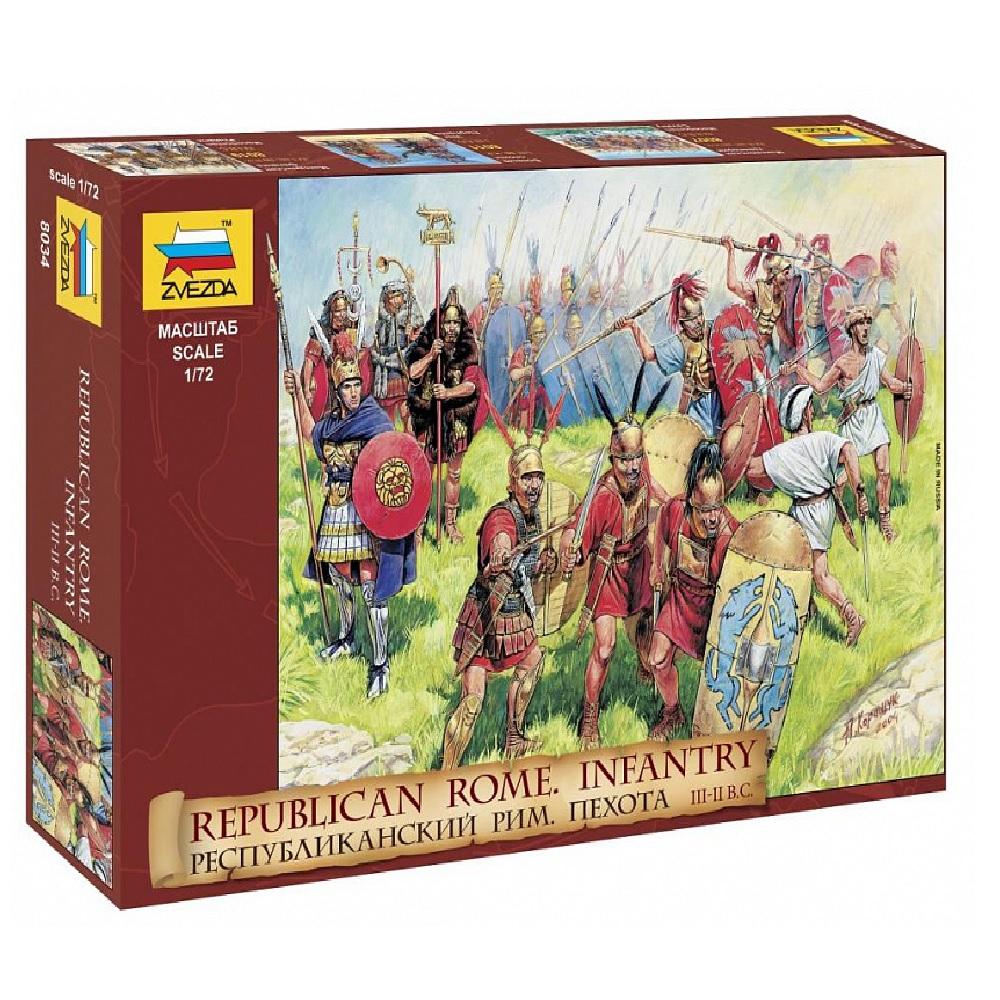 Республиканская Римская пехота III-II ВВ. до Н.Э.