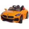 Электромобиль BMW спорт  желтый краска, свет и звук