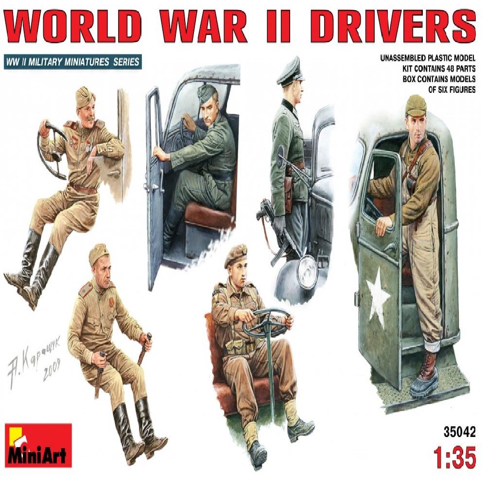 Фигуры WORLD WAR II DRIVERS (1:35)