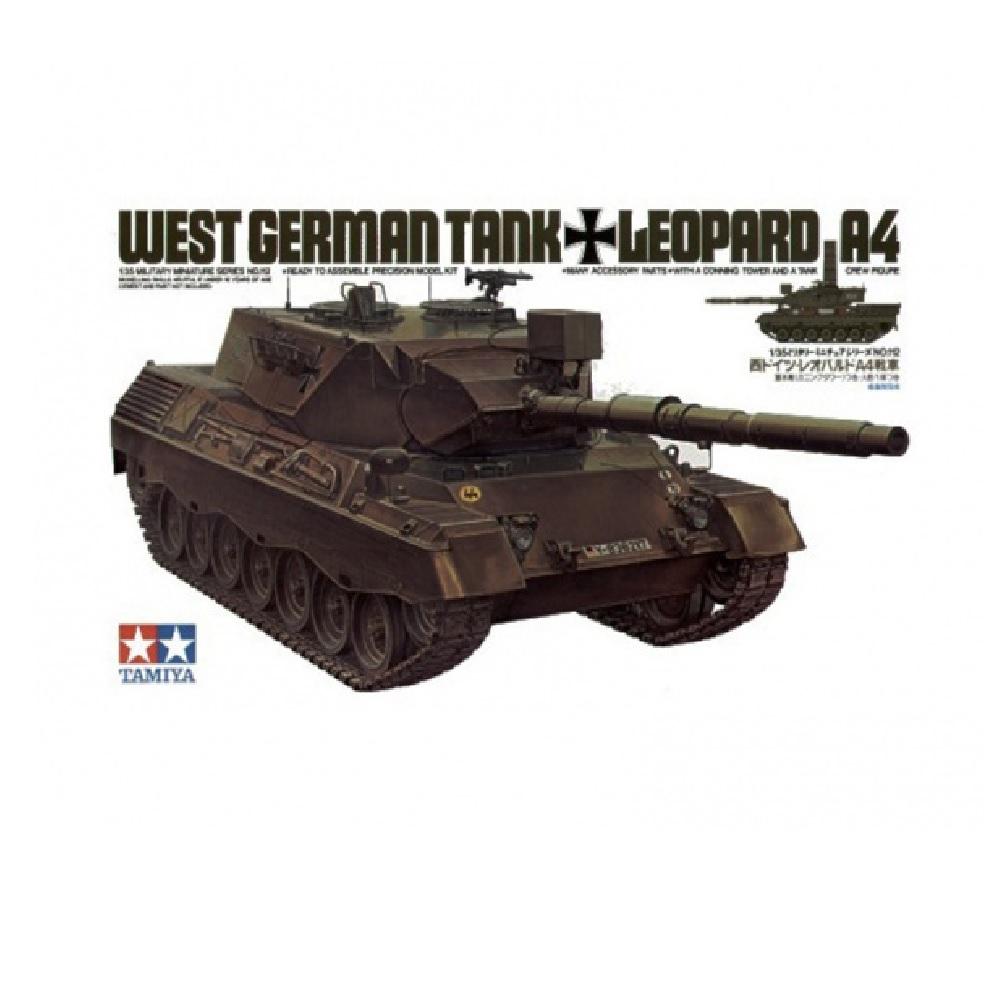 Танк Leopard A4 1 фигурой (1:35)