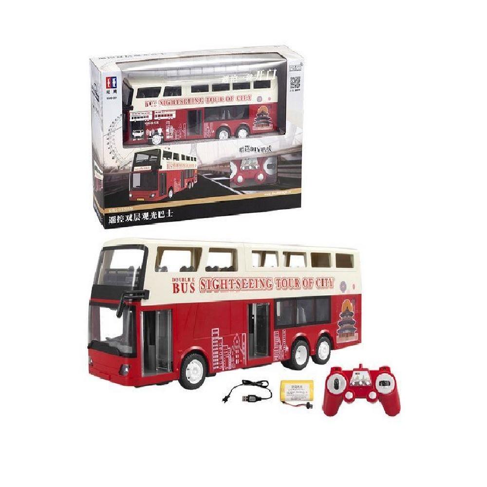 Радиоуправляемый двухэтажный автобус Double Eagle 1:20 2.4G RTR