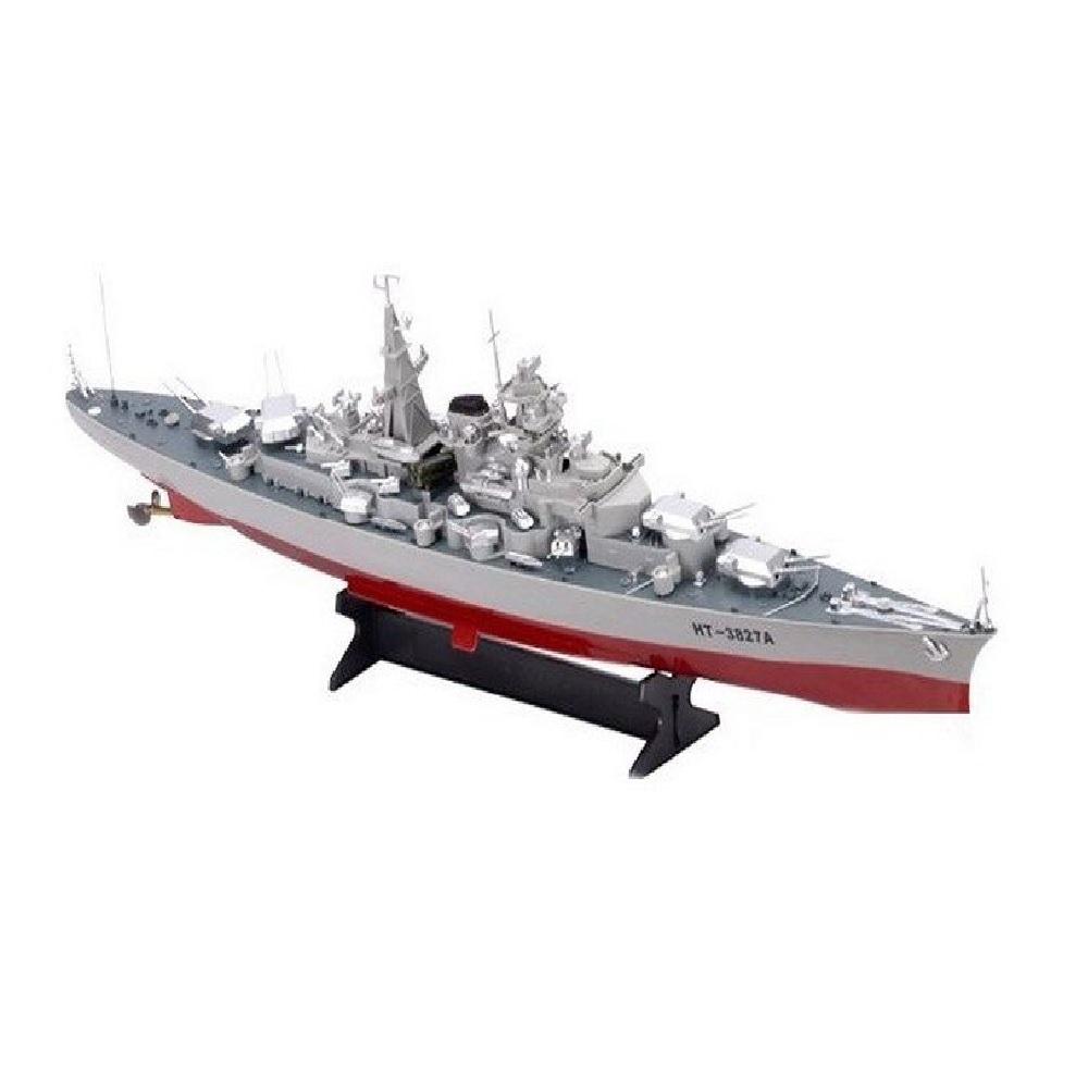 Радиоуправляемый корабль Heng Tai линкор Бисмарк 2.4G 1/360
