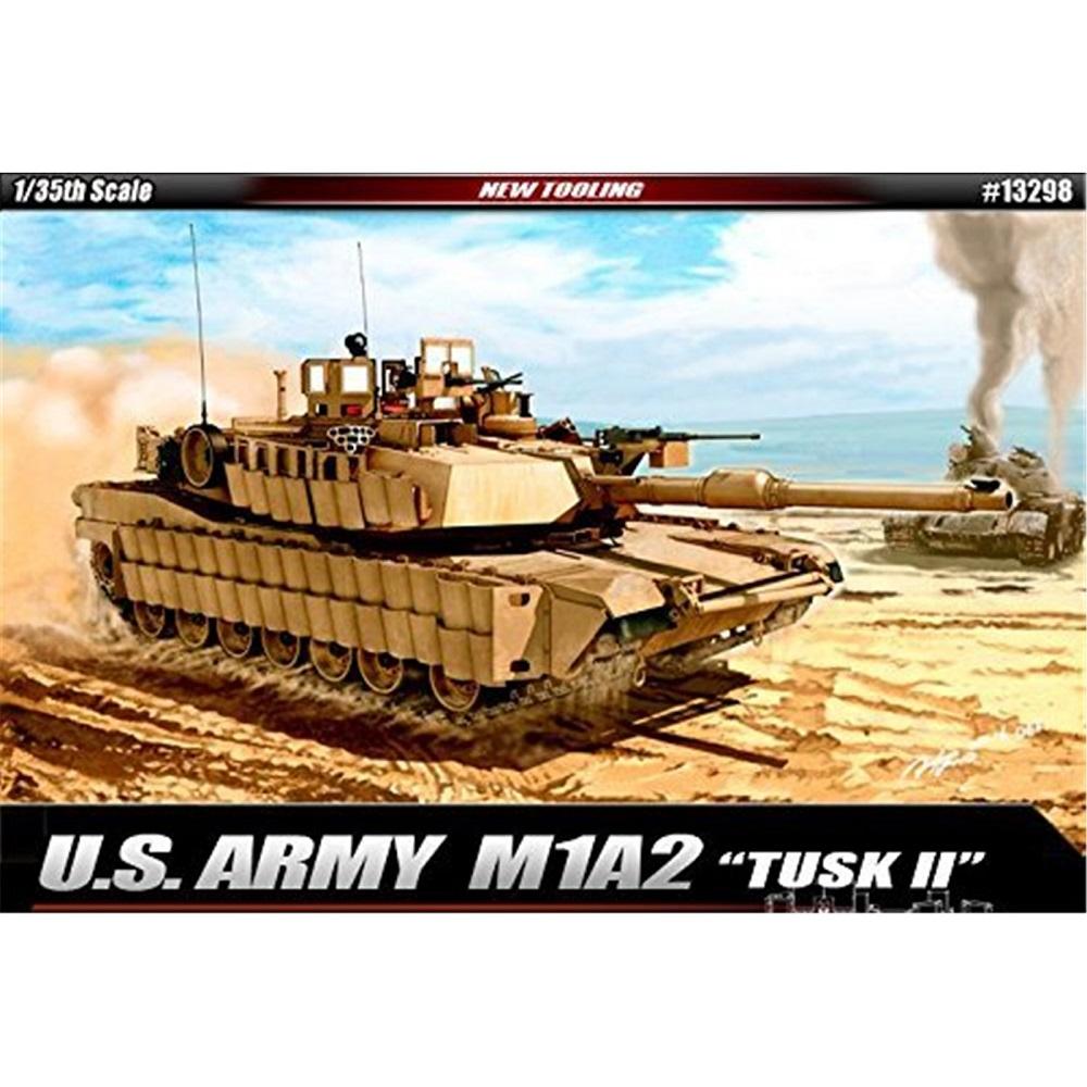 Танк U.S. Army M1A2 TUSK II (1:35)