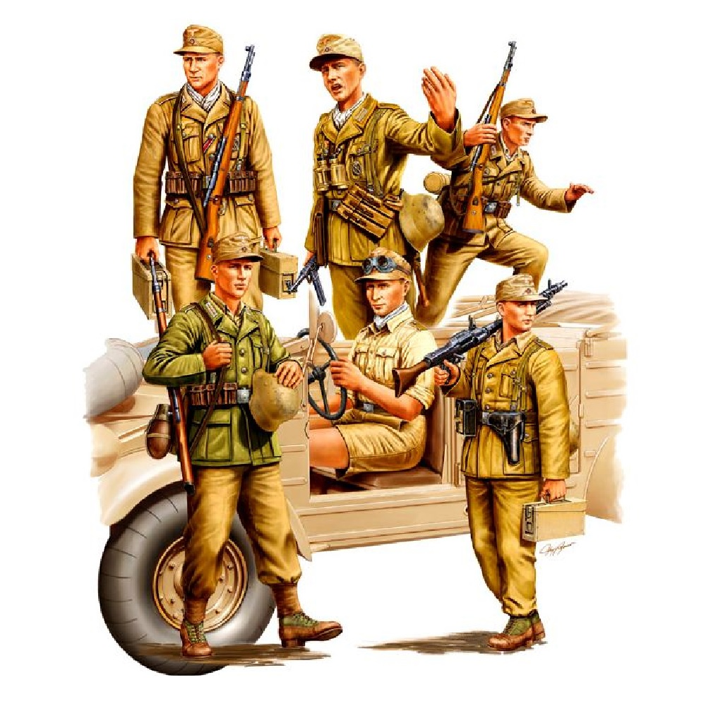 Фигуры German Africa Corps (1:35)