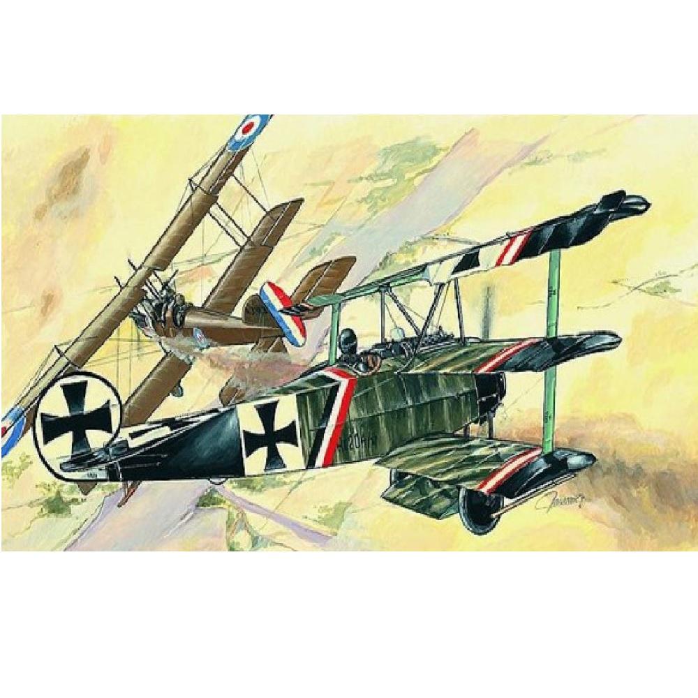Авиация Fokker Dr.I (1:72)