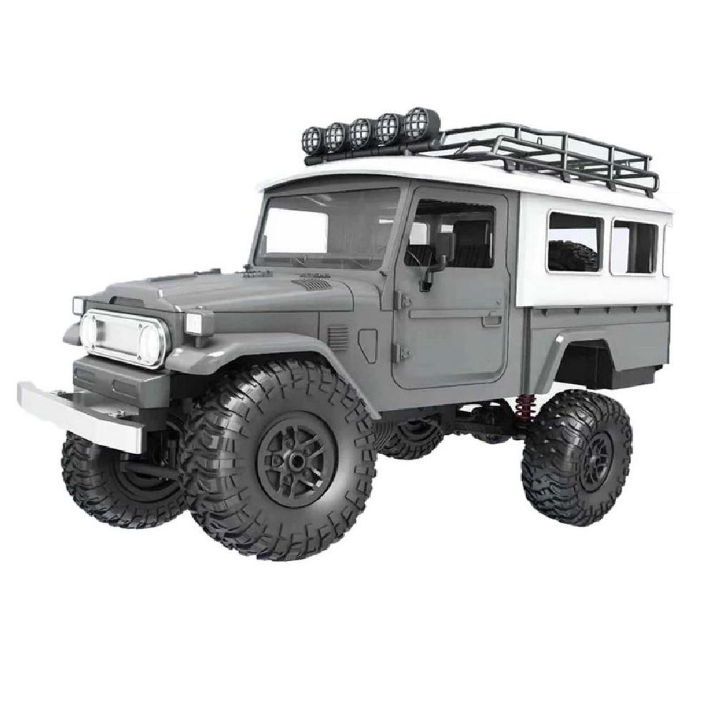 Радиоуправляемая машина MN MODEL японский внедорожник FJ45 (серый) 4WD 2.4G 1/12 RTR