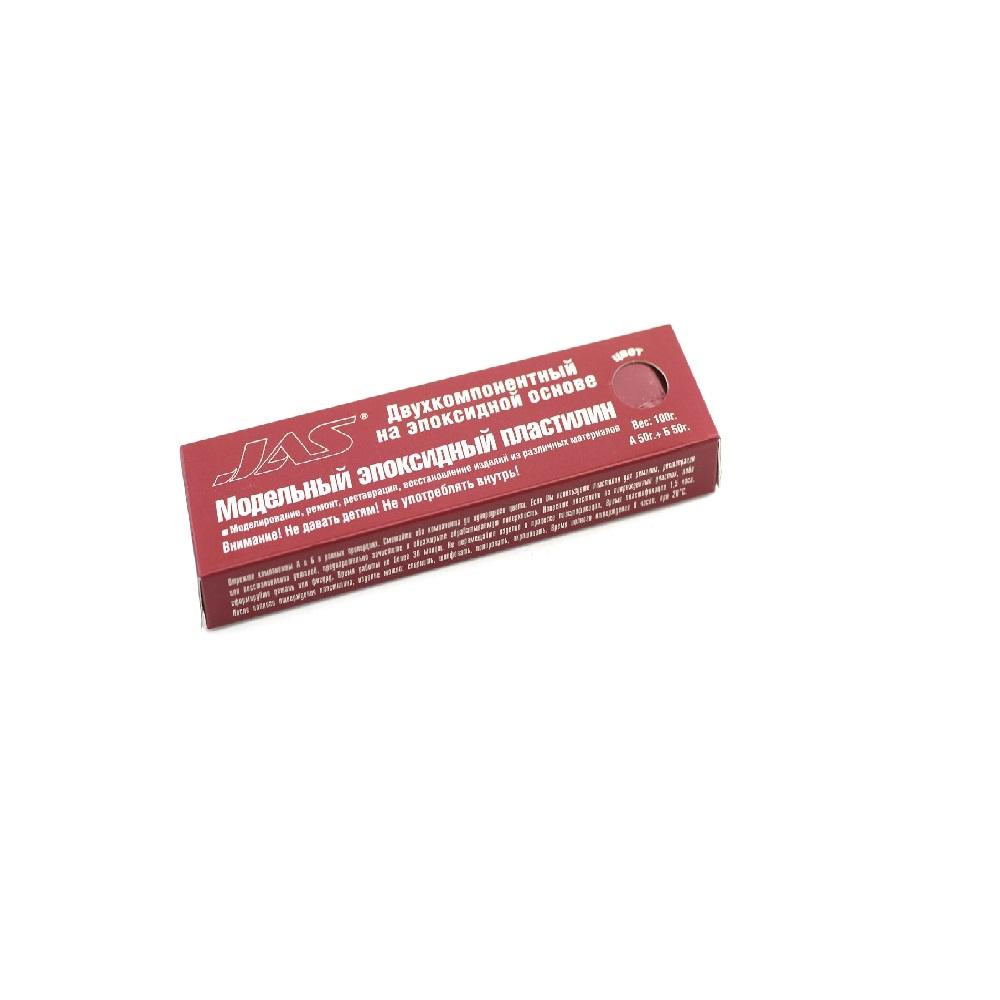 6206 JAS Эпоксидный пластилин, красный, 100 гр